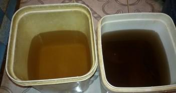 تلوث مياه إحدى قرى الزقازيق الشرقية.. وتغير لونها إلى الأصفر والبني