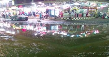 شارع الترعة في شبرا الخيمة اسم على مسمى بفضل مياه المجاري