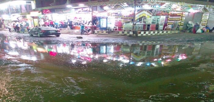 شارع الترعة في شبرا الخيمة اسم على مسمى بفضل مياه المجاري 📷