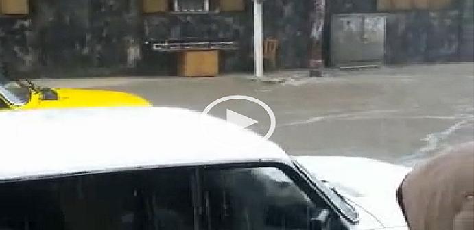بالفيديو.. سيول جارية في شارع صلاح سالم بالإسكندرية وقت سقوط المطر  ▶