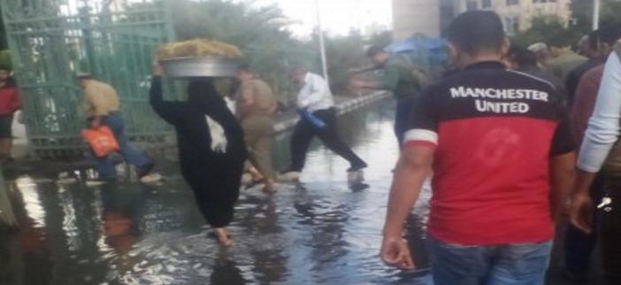 بالصور.. أمطار جديدة في الثغر.. والإسكندرانية لسة غرقانين من «الأحد الحزين» 📷
