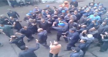 اعتصام عمالي بإحدى الشركات السبع لقناة السويس