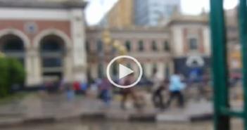 بالفيديو.. غرق ساحة محطة مصر بالإسكندرية.. والأمطار تمنع المواطنين من دخولها