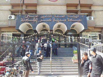 مرضى يشكون تأخر حضور أطباء بمستشفى التأمين الصحي في مدينة نصر