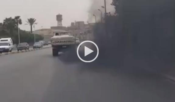 بالصور والفيديو.. عوادم ميكروباصات القاهرة.. «مصانع توزيع الهباب الأسود» 📷 ▶