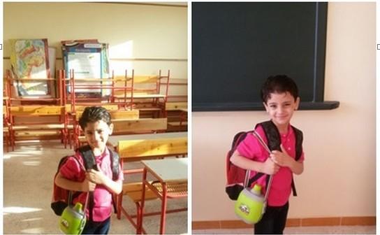 بالصور.. مدرسة تطرد طفلا في أول يوم دراسي بالدقهلية.. ووالده: «مصدوم» 📷
