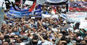 مظاهرات-ضد-قانون-الخدمة-المدنية