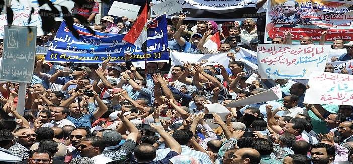 موظفو الضرائب ونقابات «تنسيقية تضامن» يعاودون التظاهر ضد «الخدمة المدنية» السبت