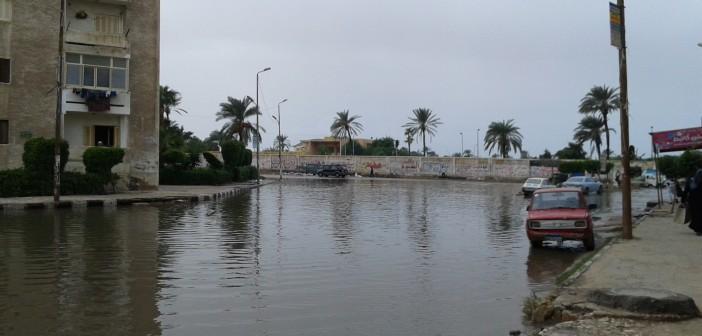 📷| أغيثوا أهالي طوسون بالإسكندرية.. الشوارع مازالت غارقة في الأمطار