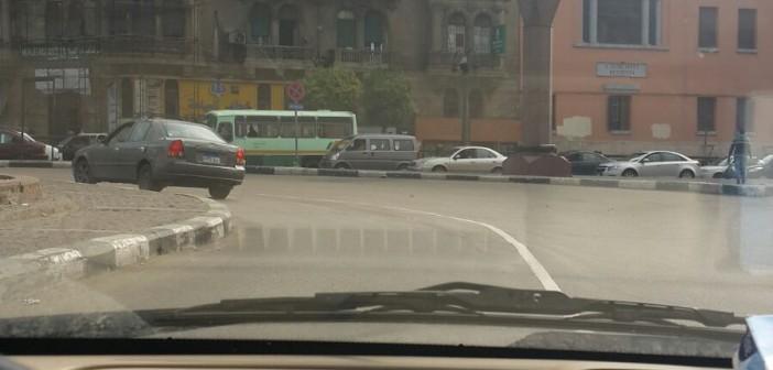 📷| سيولة مرورية بالقاهرة بعد سقوط أمطار في ساعات الصباح الأولى