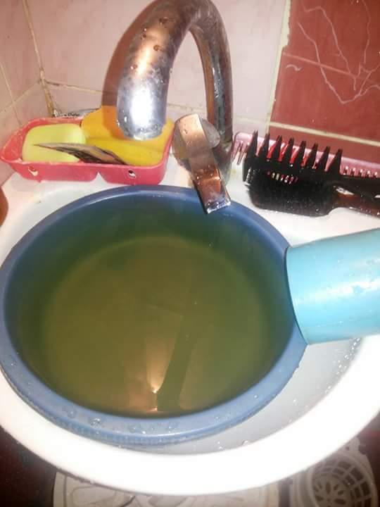 تغير شكل المياه في منطقة كفر السليمانية بوراق العرب