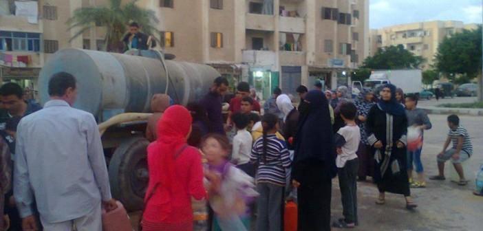 مواطنو برج العرب الجديدة: المدينة دون مياه منذ 72 ساعة.. ومسؤولوها «غير مسؤولين»