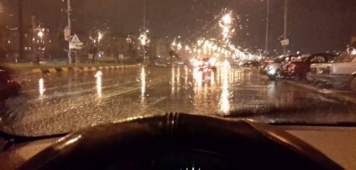 📷 أمطار غزيرة في الشيخ زايد و6 أكتوبر.. هل القاهرة مُستعدة؟