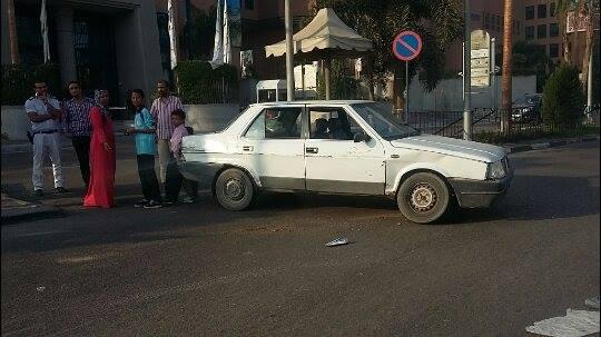 أولياء أمور يطالبون حي شرق مدينة نصر بإقامة مطب صناعي أمام مدرسة