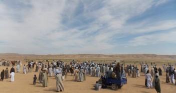 مهرجان سباق الخيل في قرية سلوا بأسوان