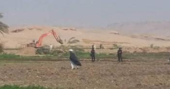 تجريب أراضي للفلاحين في قرية الكولة بسوهاج