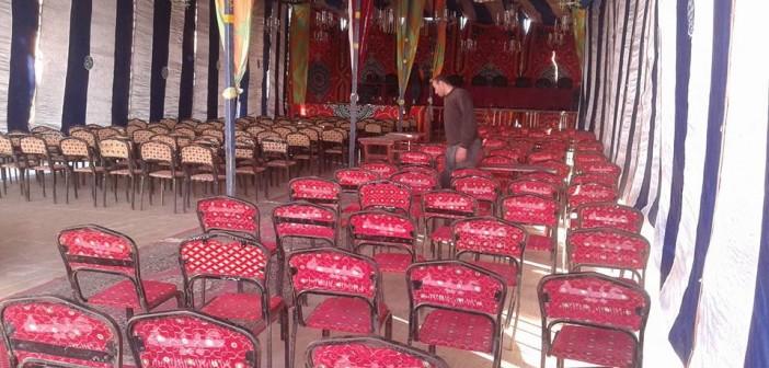 بالصور.. استعدادات لجنة الانتخابات في شربين لإعلان نتائج التصويت مساءً