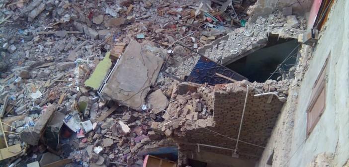 ▶| ما بعد الكارثة.. مواطنون بالشارع لسقوط عقار: «المسؤولين شافونا ومشيوا» (فيديو)