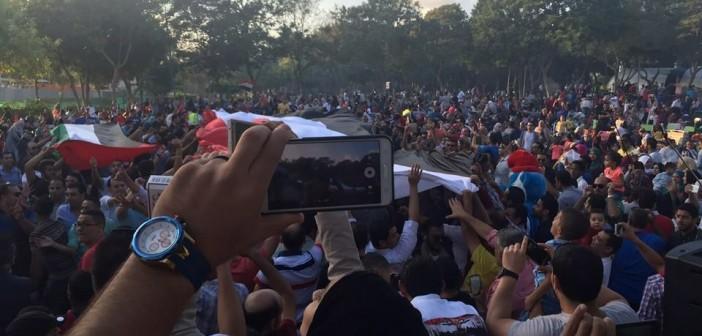بالصور والفيديو.. فول وكشري وبطاطا بروح مصرية بـ #حارتنا_في_دبي