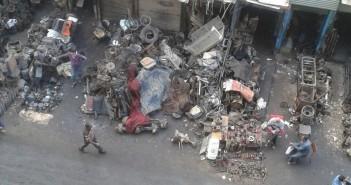📷| الشوارع الجانبية لحي الساحل بشبرا