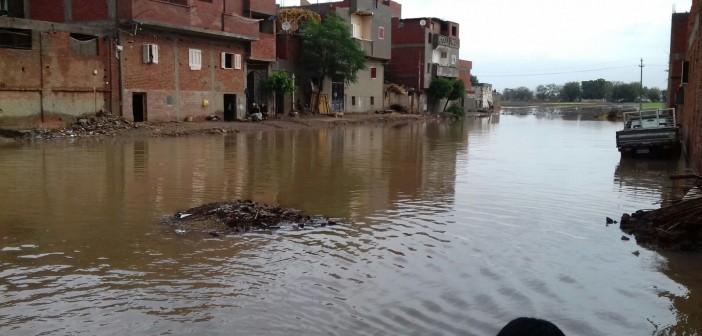 📷| «قصر نصر الدين» بكفر الزيات مازالت غارقة منذ أزمة السيول الأخيرة