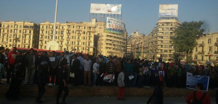 🔴 بالصور.. حملة الماجستير يتظاهرون بـ«التحرير» للمرة الثانية في نوفمبر (تحديث)