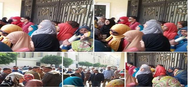 وقفة احتجاجية أمام «التعليم» لرفض اغتراب المعلمين