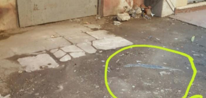 📷| كابلات ضغط عالي يتم «رشها بالمياه» تهدد حياة المواطنين بالهرم