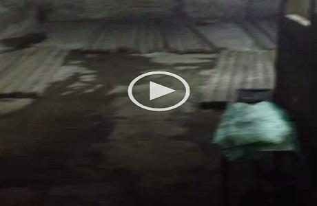 ▶| بالفيديو.. تردي حالة مستودع لتخزين الدقيق في أجا.. والصرف يضربه