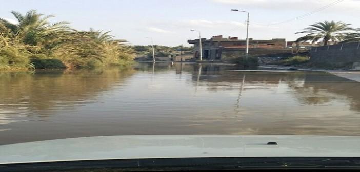 📷| بالصور.. تواصل غرق مدينة إدكو في مياه الأمطار