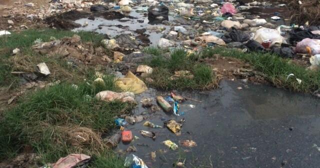 📷| بالصور.. تفاقم أزمة الصرف في منشأة غربال بالبحيرة