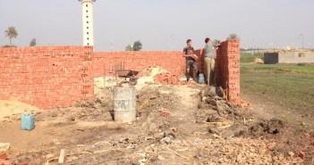 تعديات متواصلة على الأراضي الزراعية في أبو حماد بالشرقية