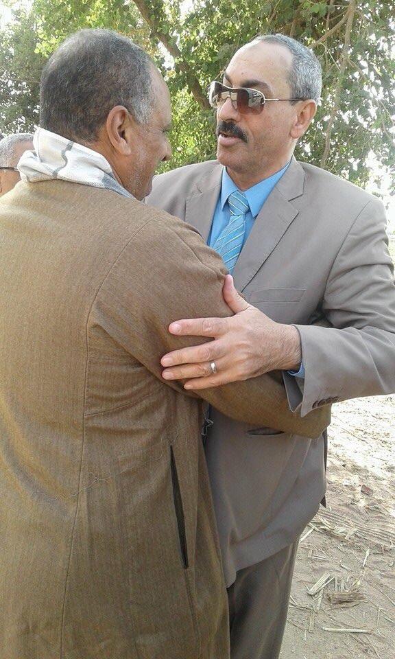 لحظة إطلاق اسم شهيد كمين «الخروبة» ديفيد حناالله على مدرسة بمسقط رأسه بأسيوط