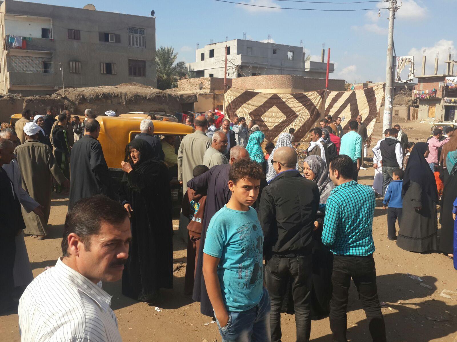 أجواء الانتخابات في إحدى لجان كفر صقر بالشرقية
