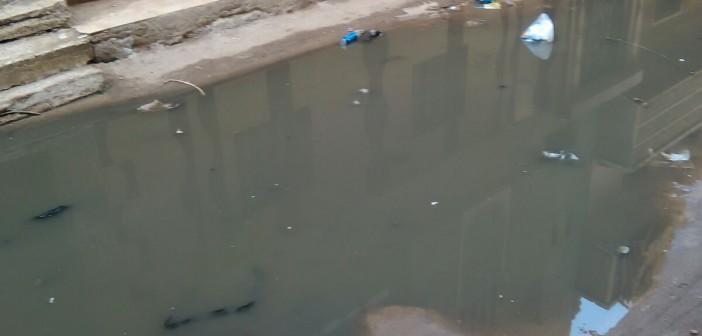 📷| غرق شارع بالحسينية في مياه الصرف الصحي