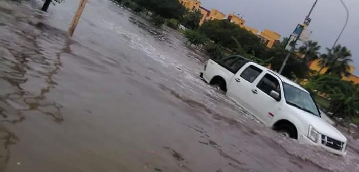 بالصور.. غرق «السادات» في الأمطار.. ومواطنون: 48 ساعة دون مياه وكهرباء 📷