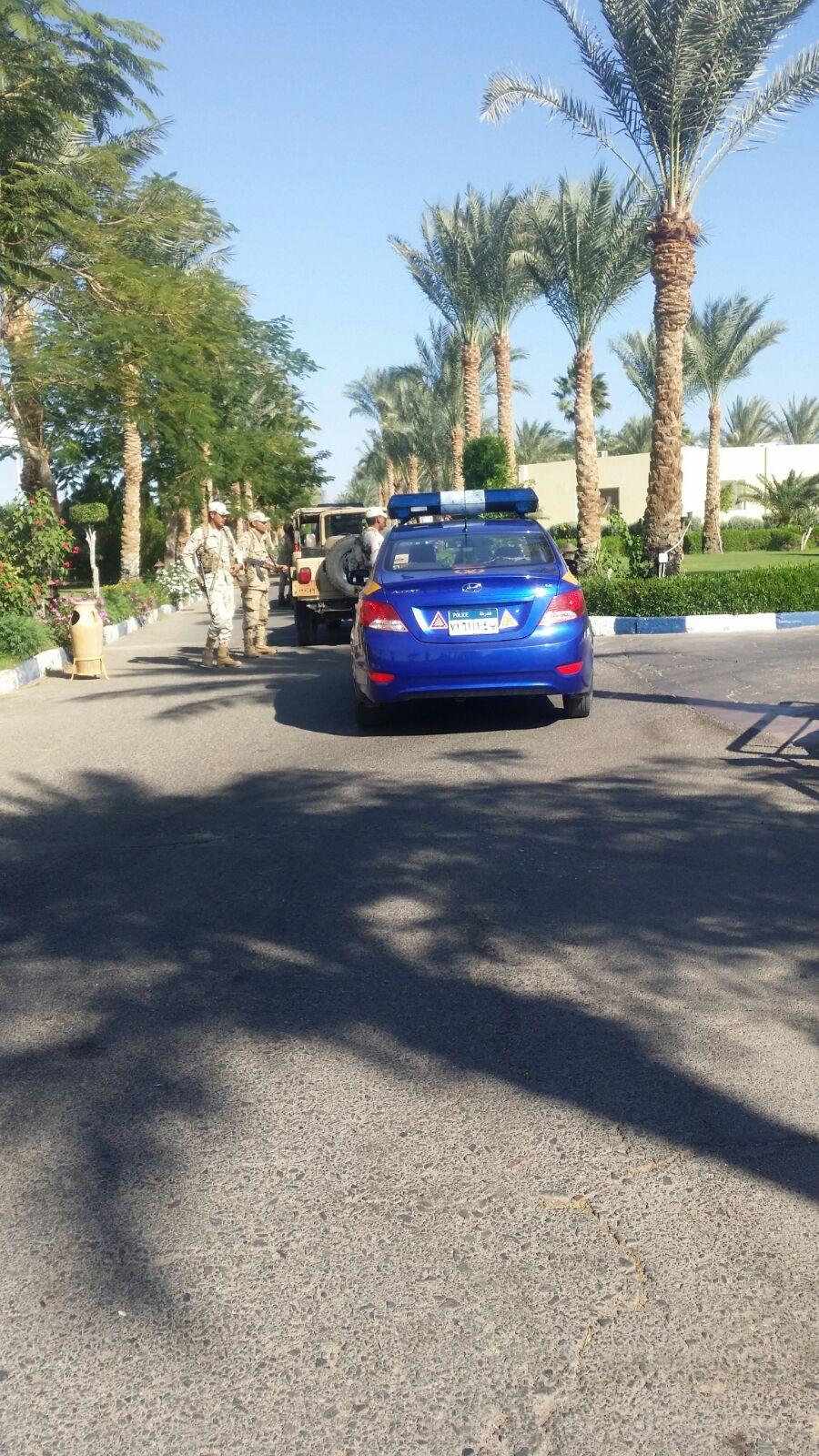 إضراب 550 بفندق «تركي» في شرم الشيخ.. وحضور قوات من الجيش والشرطة