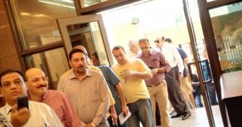توافد المصريين في الإمارات للتصويت في انتخابات مجلس النواب
