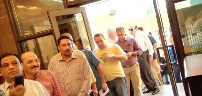 📷| بالصور.. توافد المصريين بالإمارات للتصويت في انتخابات «النواب»