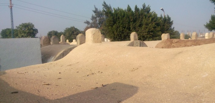 📷| مقابر «القطا» بالجيزة بدون إنارة