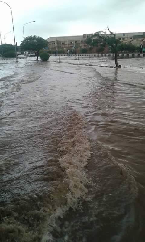 بالصور.. «السادات» تغرق في الأمطار.. ومواطنون: إلحقونا.. 48 ساعة دون مياه وكهرباء