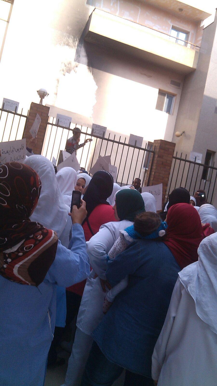 مظاهرة للتأمين الصحي بشبرا من أجل الكادر والمساواة بـ«الصحة»