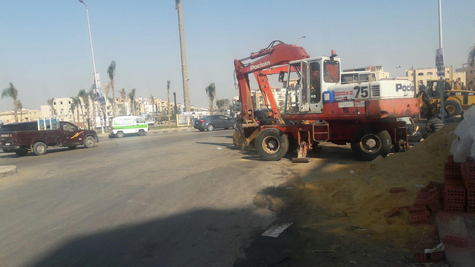 فوضى في ميدان فاطمة الشربتلي وشارع الـ90 بالتجمع الخامس