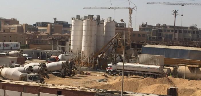 بالصور.. مواطنون يشكون تلوث وإزعاج مصنع خرسانة جاهزة بالتجمع الخامس 📷