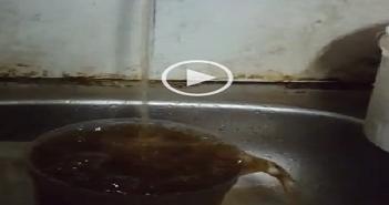 اختلاط مياه الشرب بالصرف الصحي في الوراق بالجيزة