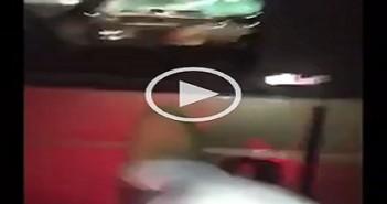 سعودي يكسر سيارة مصري