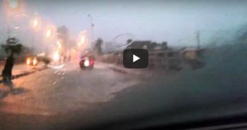 فيديو.. الإسكندرية تواصل الغرق (منطقة طوسون ـ أبو قير)