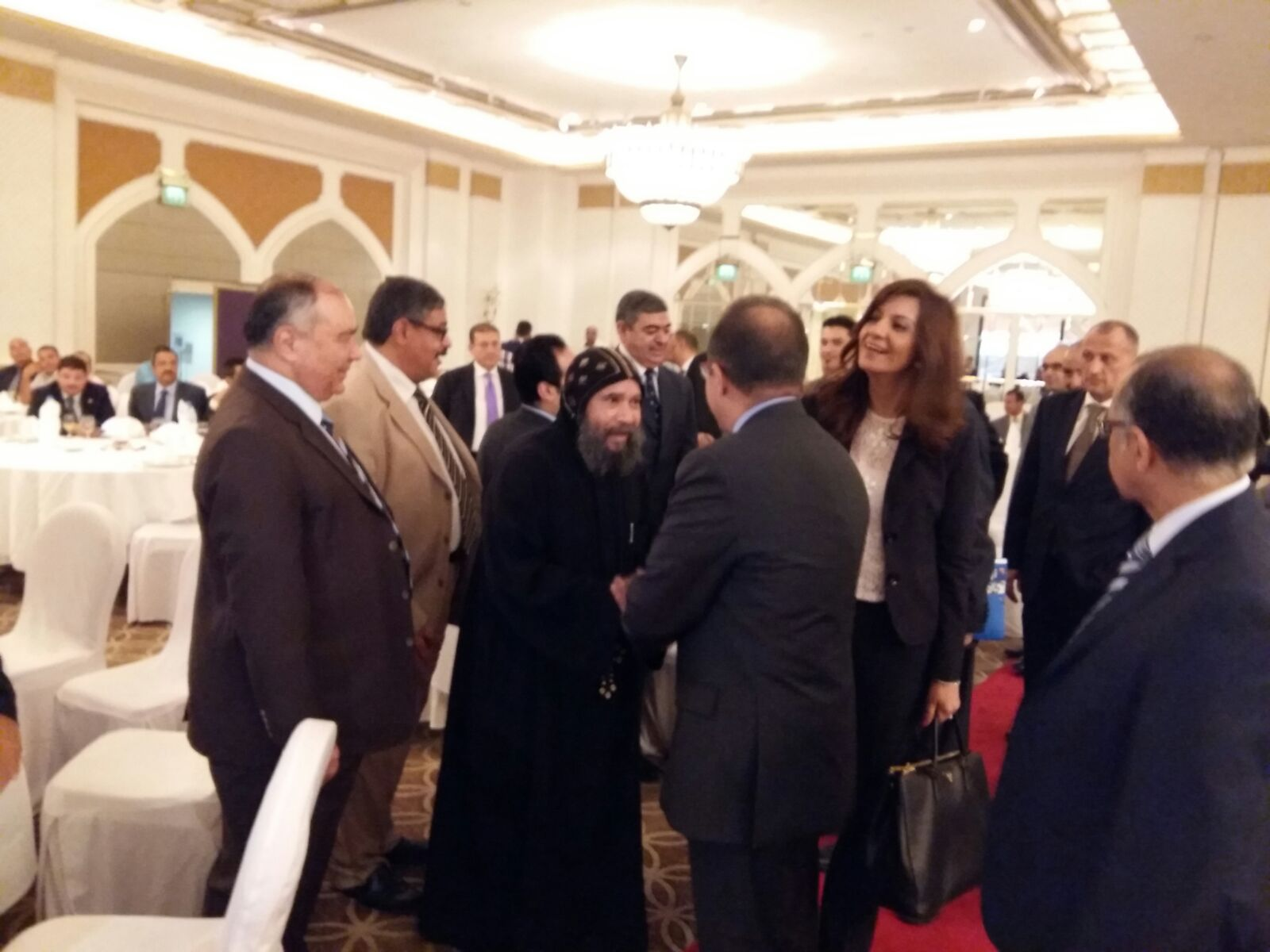 ممثلو «النادي المصري» بالإمارات يلتقون وزيرة الهجرة لدعم السياحة المصرية