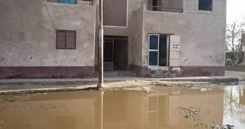 قرى مركز الواسطى في بني سويف خالية من شبكات الصرف