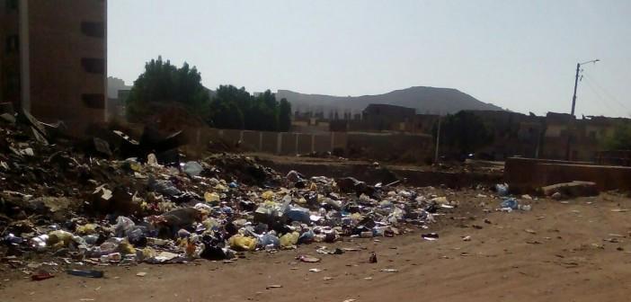 📷| مواطنون يشكون تلوث القمامة في مستعمرة السكة الحديد بأسوان